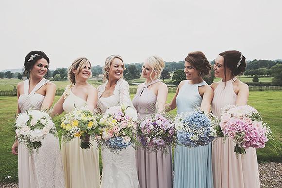 Bride & Bridesmaids - Make Me Bridal Artist: Make Up By Jenni. Photography by: Emma Cleverly. #bridalmakeup #weddingmakeup