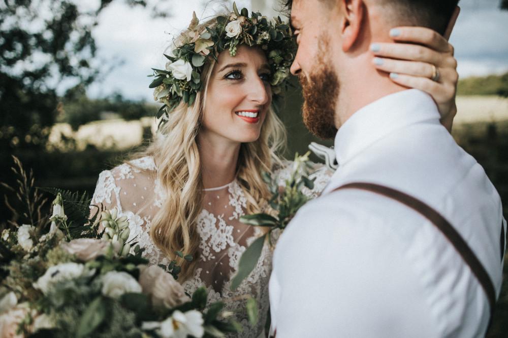 Boho Bridal Beauty - Make Me Bridal Artist: Make Up By Jenni. Photography by: Matt Horan.
