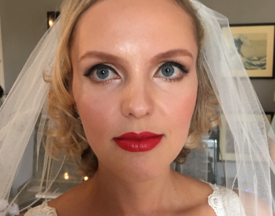 RLM wedding makeup