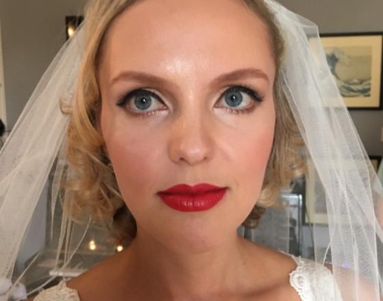 RLM wedding makeup
