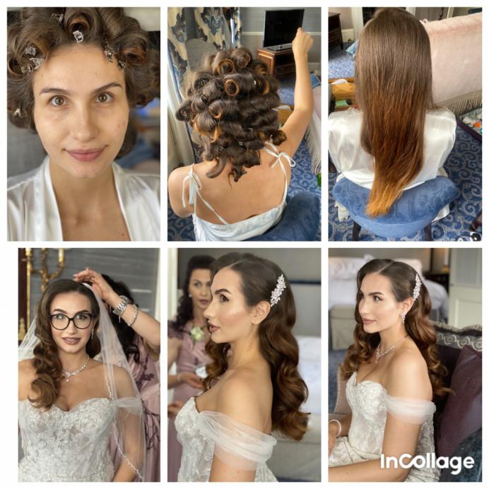 Hollywood waves - Make Me Bridal Artist: RLM wedding makeup. Photography by: Me. #glamorous