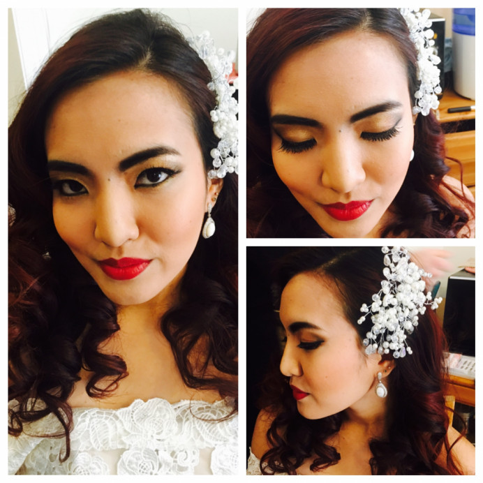 - Make Me Bridal Artist: RLM wedding makeup.