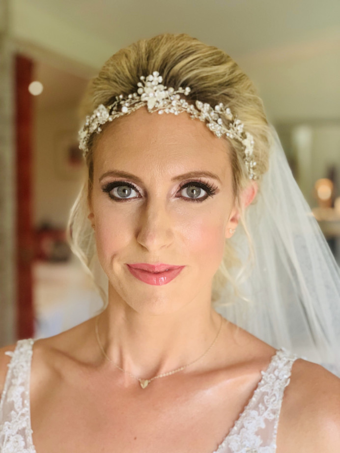 Bridal glam makeup - Make Me Bridal Artist: RLM wedding makeup.