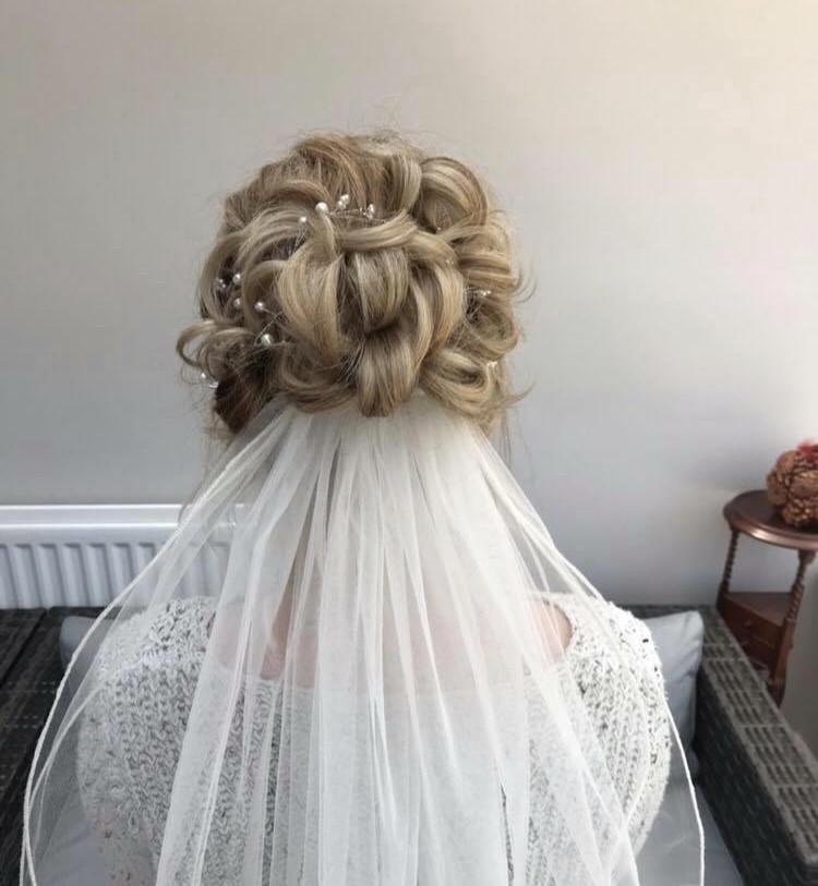 - Make Me Bridal Artist: Wedding hair by marie.