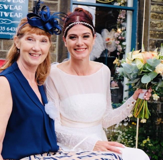 Elegant Bride and Mother of the Bride Arriving at the village church in style!! ? - Make Me Bridal Artist: Makeup by Fi Farrelly. Photography by: Makeup by Fi Farrelly. #weddinghairandmakeup #horsedrawncarriage