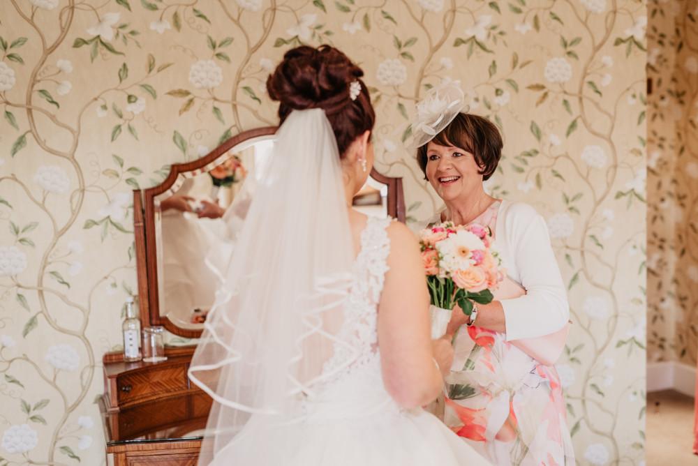 - Make Me Bridal Artist: Nicola Louise Makeup. Photography by: Ideal Imaging By Alistair Jones. #classic #glamorous #naturalmakeup #weddingmorning #gettingready #motherofthebridal