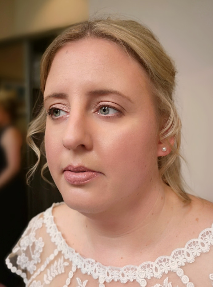 - Make Me Bridal Artist: Nicola Louise Makeup. #classic #naturalmakeup #weddingmorning #gettingready #bridalmakeup
