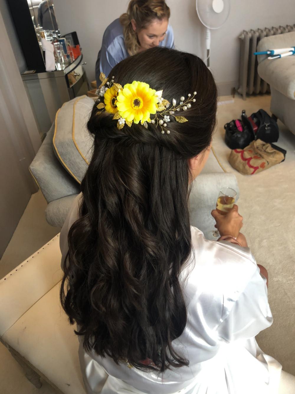 - Make Me Bridal Artist: Justine's Hair & Makeup.