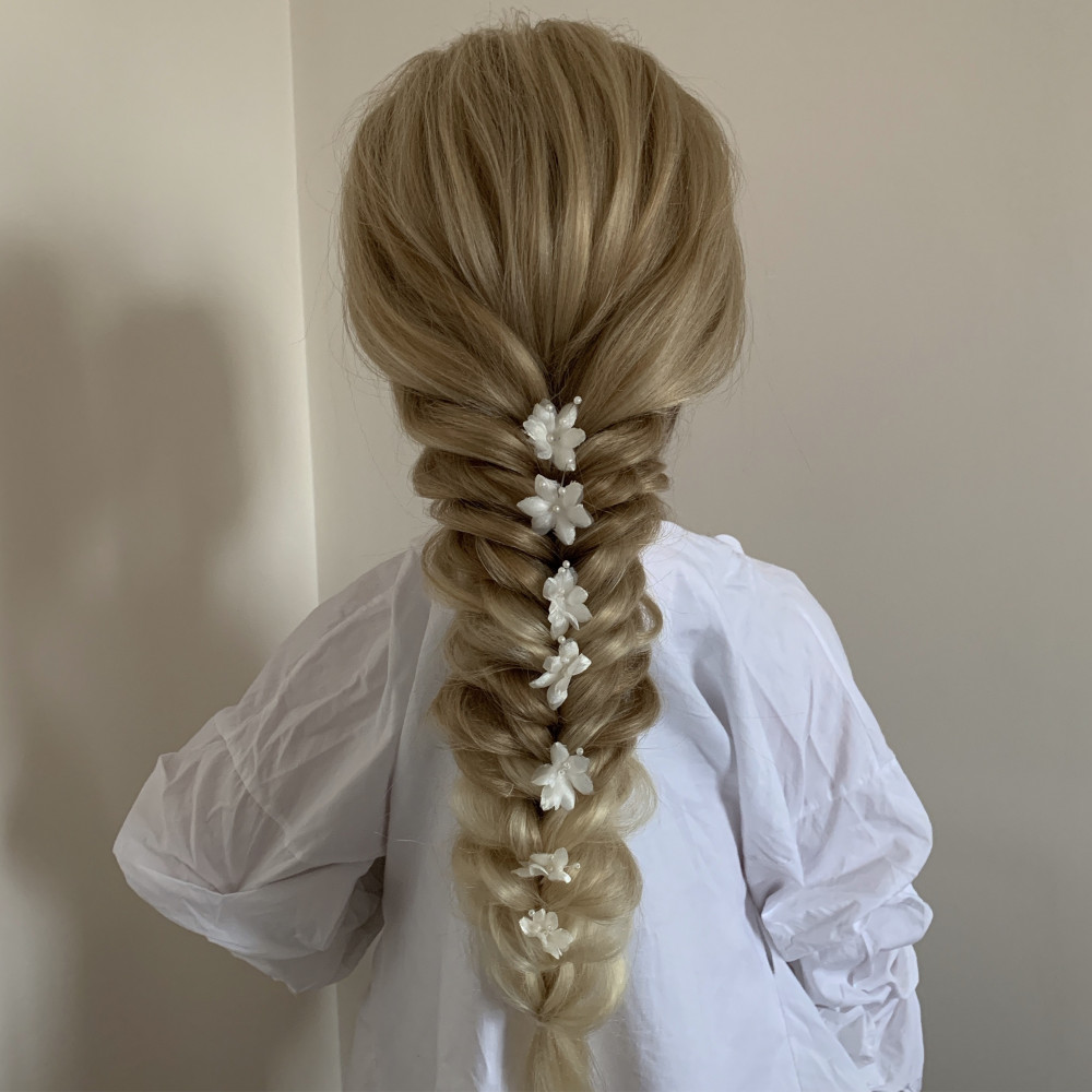 Bridal Boho Plait - Make Me Bridal Artist: Pavkoonermua.