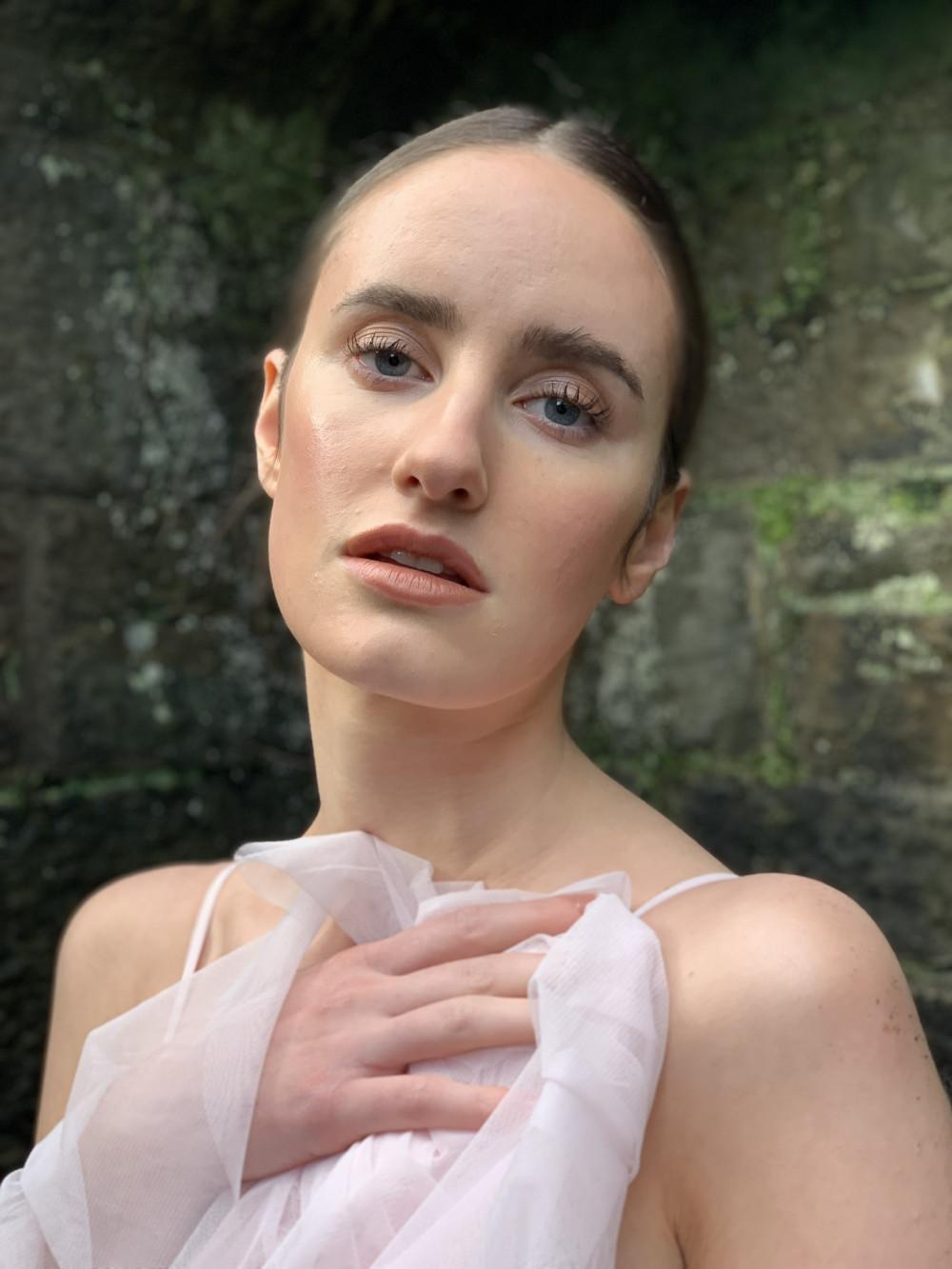Natural skin using cream based products from Glossier - Make Me Bridal Artist: Brows + Brides. #naturalmakeup #editorial