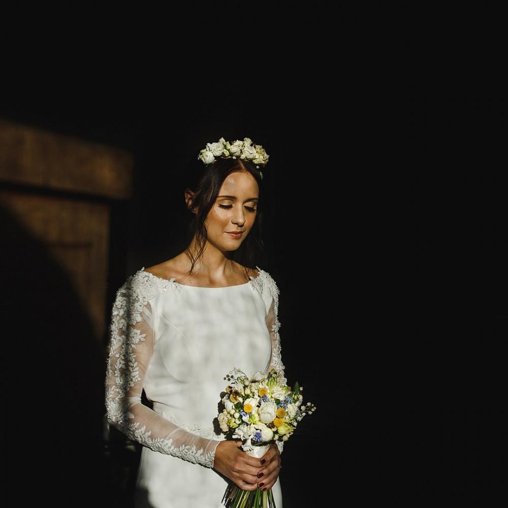 Skin like Glass - Make Me Bridal Artist: Charlotte Mallinder Professional Makeup Artist. #boho #flowercrown