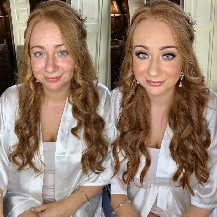 Glam Bridal makeup by Charlotte Mallinder professional makeup artist - Make Me Bridal Artist: Charlotte Mallinder Professional Makeup Artist. #classic #flawlessmakeup #glambride #bridemakeup