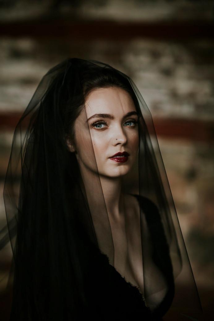 Dark & Romantic Bridal shoot, makeup by Charlotte Mallinder professional makeup artist - Make Me Bridal Artist: Charlotte Mallinder Professional Makeup Artist. #bridalshoot #goth