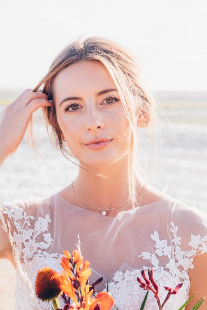 - Make Me Bridal Artist: Vicky Jiggens Makeup Artist. Photography by: Gemma Randall. #naturalmakeup #nudelip #bohobride #glowingskin #beachwedding