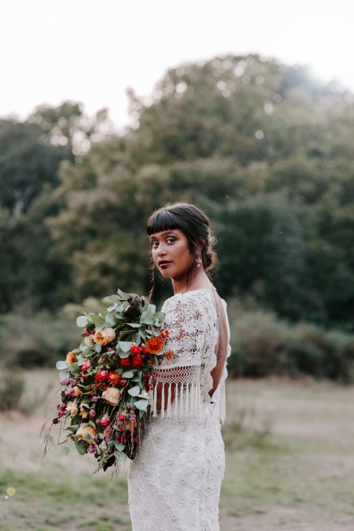 - Make Me Bridal Artist: Vicky Jiggens Makeup Artist. Photography by: Caroline Opacic. #updo #lowbun #texturedupdo #naturalskin #darklip