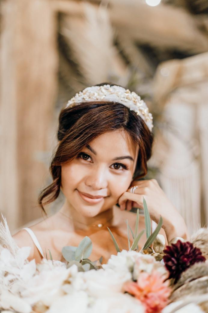 - Make Me Bridal Artist: Vicky Jiggens Makeup Artist. Photography by: Kate Boston. #bohemian #nudelip #falselashes #softglammakeup #naturalskin