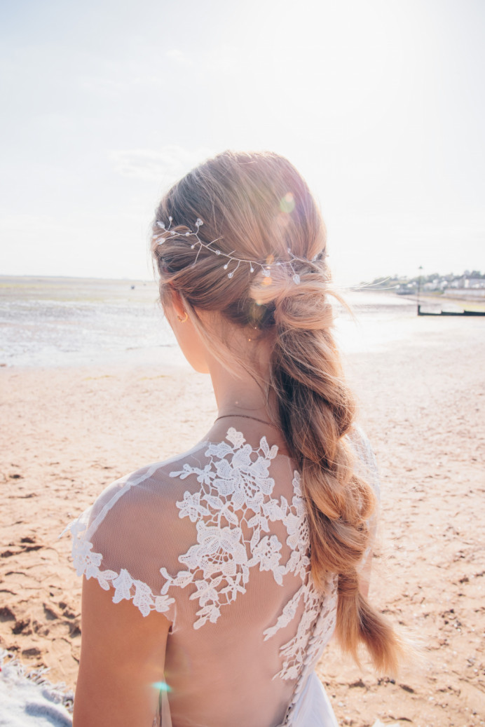 - Make Me Bridal Artist: Vicky Jiggens Makeup Artist. Photography by: Gemma Randall. #braid #plaits #bohobride #bohohair #naturalhair #beachwedding #texturedhair