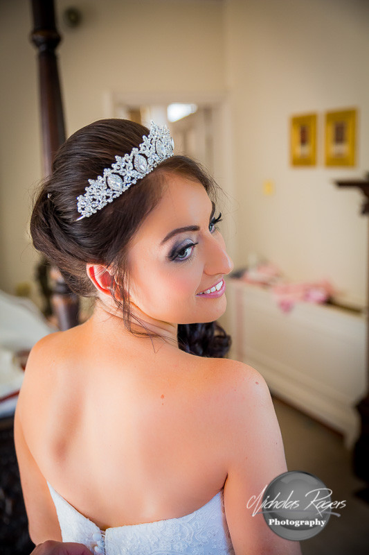 Bride Hair & Makeup - Make Me Bridal Artist: Rebecca Haines Makeup and Hair. Photography by: nicholas rogers.