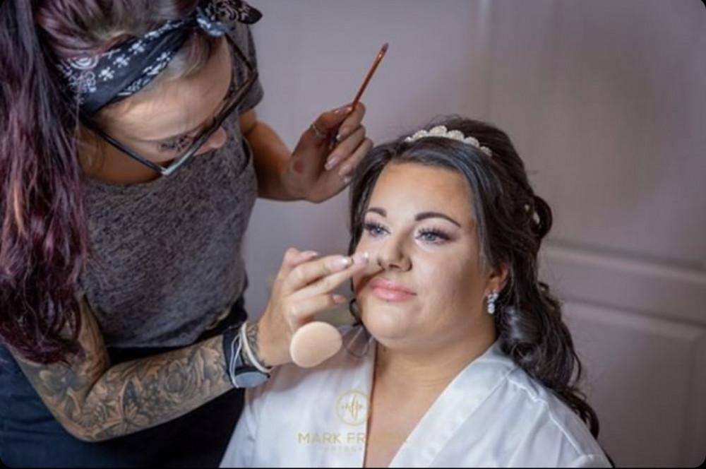 - Make Me Bridal Artist: LCAMUA. Photography by: Mark Fraser.