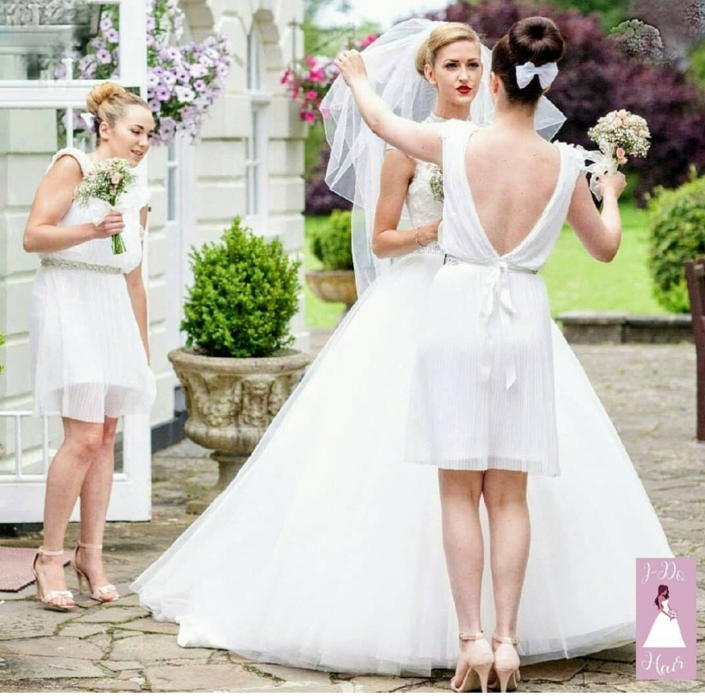 - Make Me Bridal Artist: I-Do Hair by Georgia.