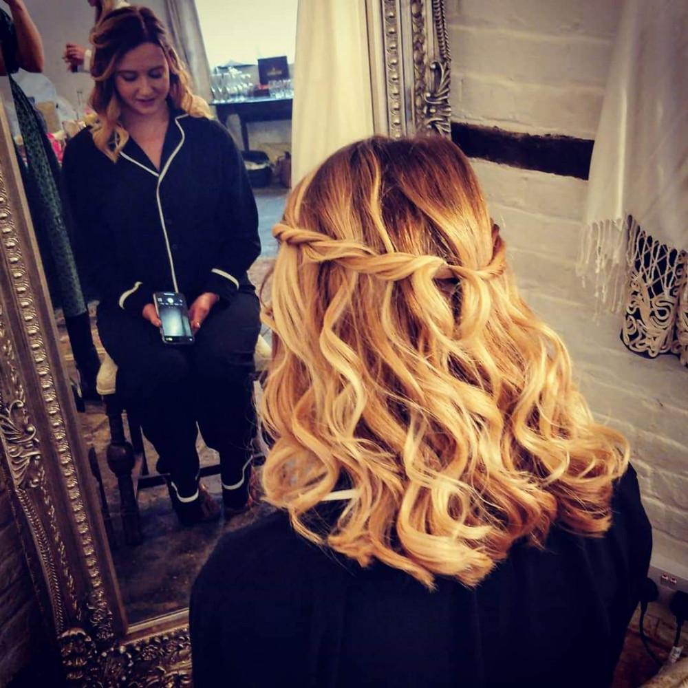Bridesmaid - Lillie - Make Me Bridal Artist: I-Do Hair by Georgia.