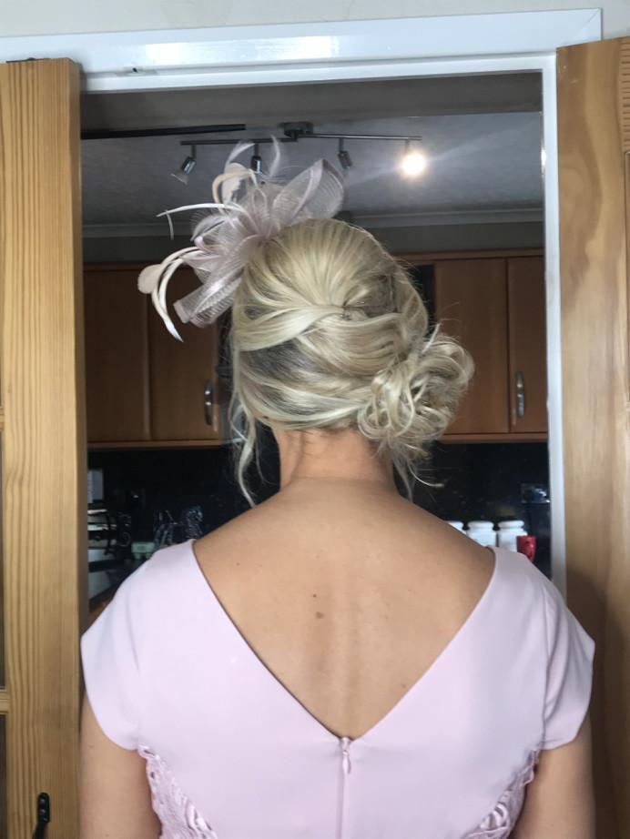 - Make Me Bridal Artist: Bouffants and Braids. #blonde #motherofthebride #updo