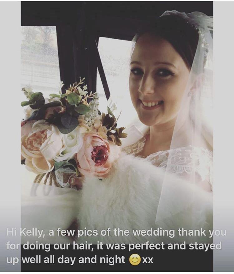 - Make Me Bridal Artist: Bouffants and Braids. #brunette #highbun #bride #shorthair #clientfeeback
