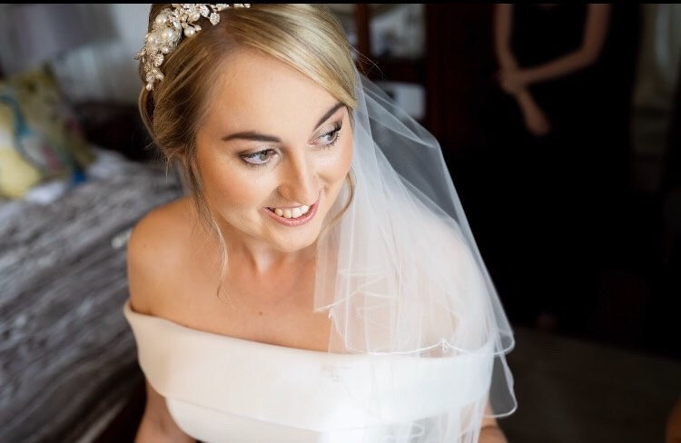 Soft, natural, radiant, classic bridal makeup - Make Me Bridal Artist: Powder & Paint - Makeup by Kathryn. Photography by: Red Maple Photography. #classic