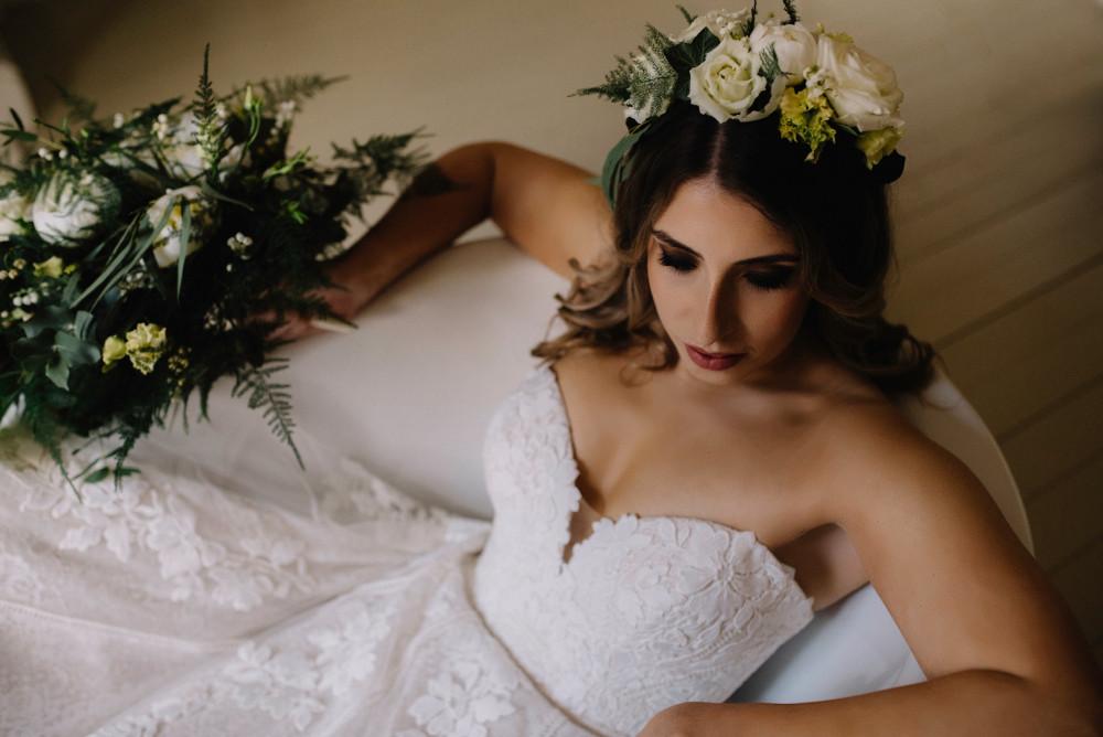 - Make Me Bridal Artist: Amy Laney Makeup. Photography by: Pixie Abbott. #bohemian #flowercrown #smokeyeyes #bohobride #bohomakeup