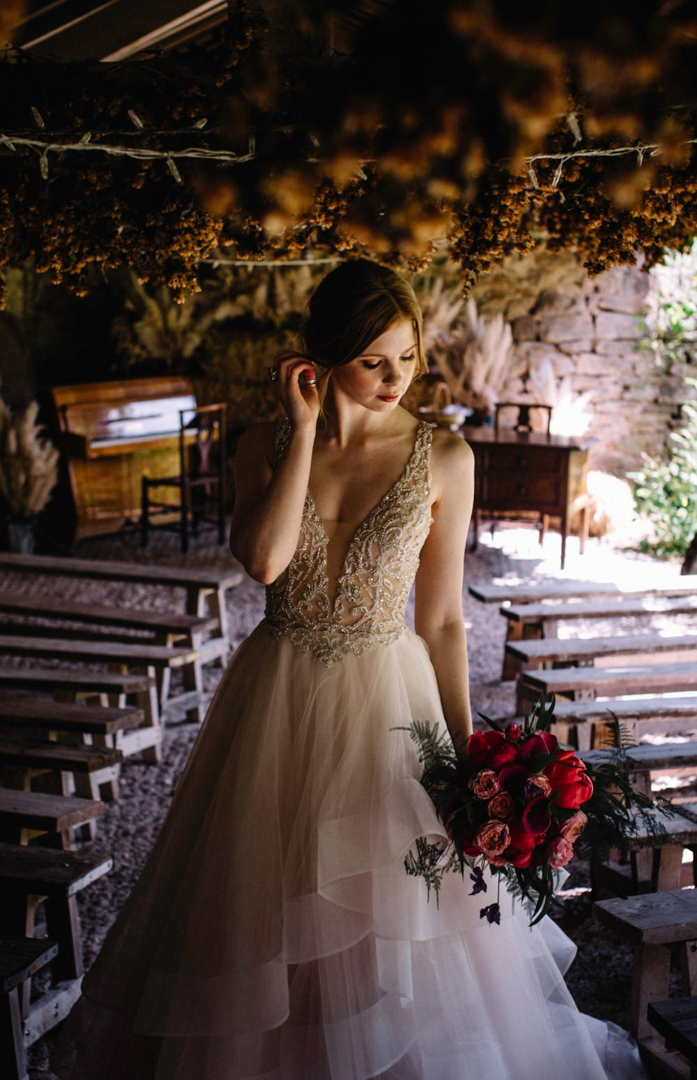 - Make Me Bridal Artist: Amy Laney Makeup. Photography by: Pixie Abbott. #bohemian #boho #bohobride #bohowedding