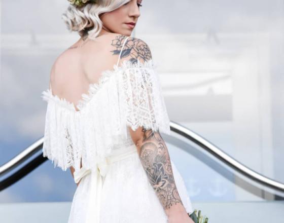Bridal hair by suzy