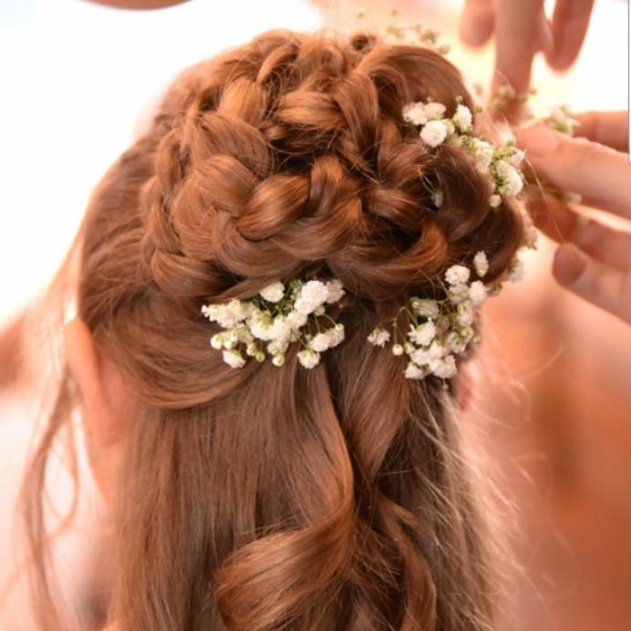 - Make Me Bridal Artist: Bridal hair by suzy.
