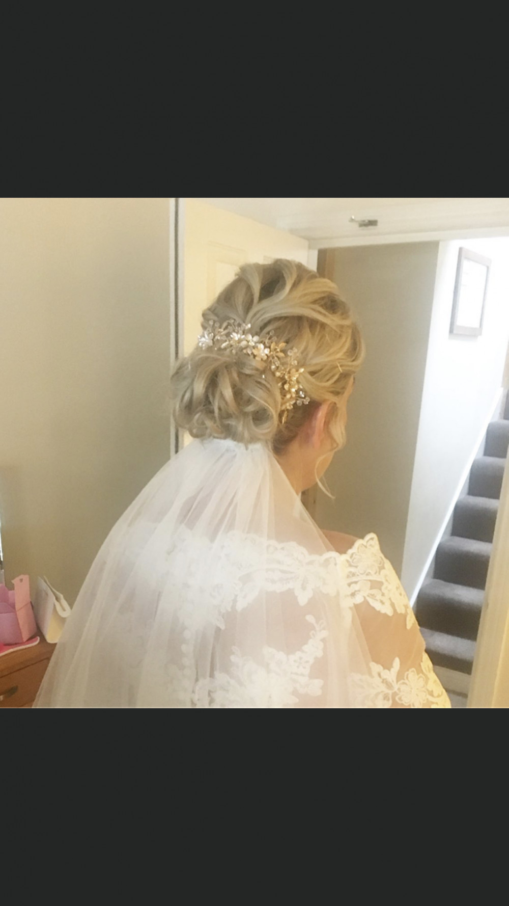 - Make Me Bridal Artist: Hair by Hayley.