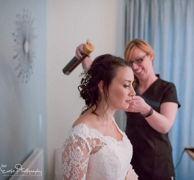 - Make Me Bridal Artist: Hairbyemmac. #classic #boho #curls #gypsophila #weddingmorning #gettingready #meatwork #bridalhair #prep