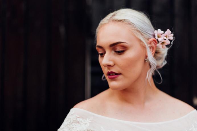 - Make Me Bridal Artist: Makeup By Mary. Photography by: Amy-Rose Deffley. #bohemian #relaxedupdo #bohobride #bohowedding #bohomakeup #bohemianhair