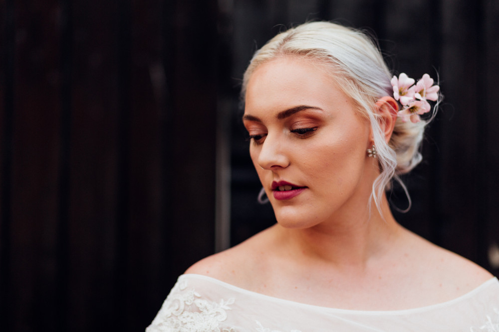 - Make Me Bridal Artist: Makeup By Mary. Photography by: Amy-Rose Deffley. #bohemian #relaxedupdo #bohobride #bohowedding #bohomakeup #bohemianhair