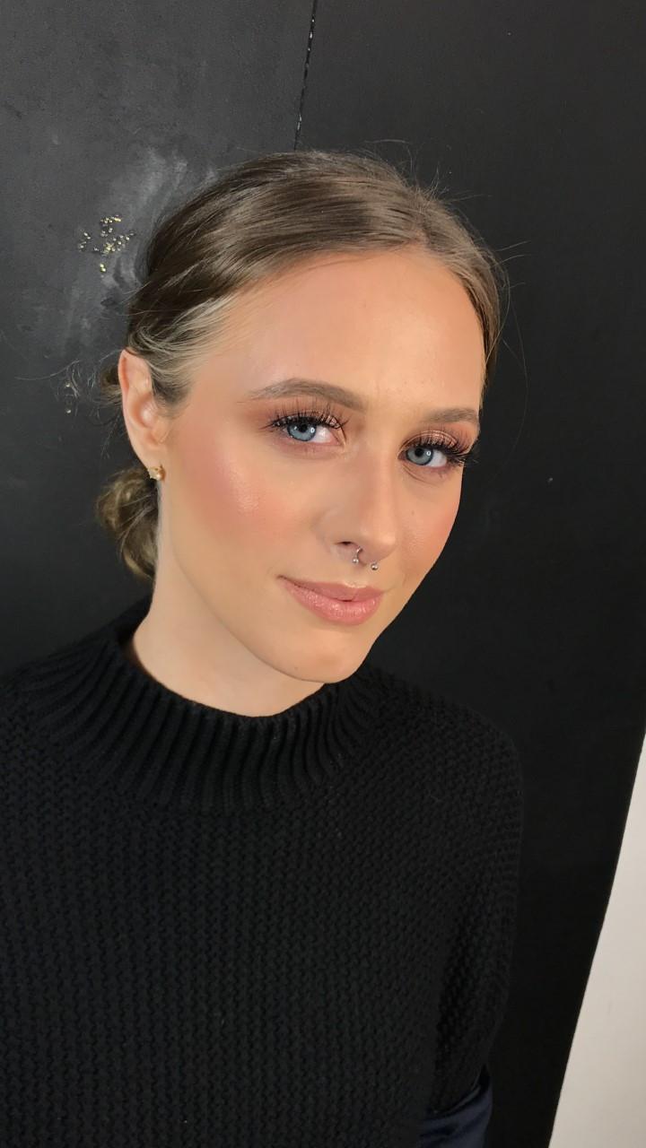 - Make Me Bridal Artist: Eloise Amy - Pro Makeup Artist. #classic #glamorous #blonde #weddingmorning #pretty #lashes #pinklipstick