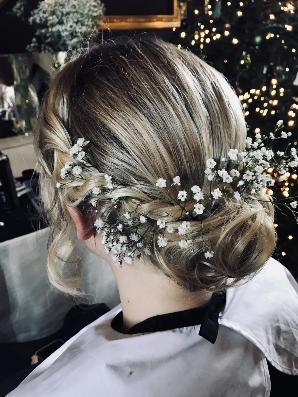 Hair style for one of the bridesmaids :) Much more of my work is here https://m.facebook.com/katrinmua/ - Make Me Bridal Artist: Makeup and Hair by Katrina.