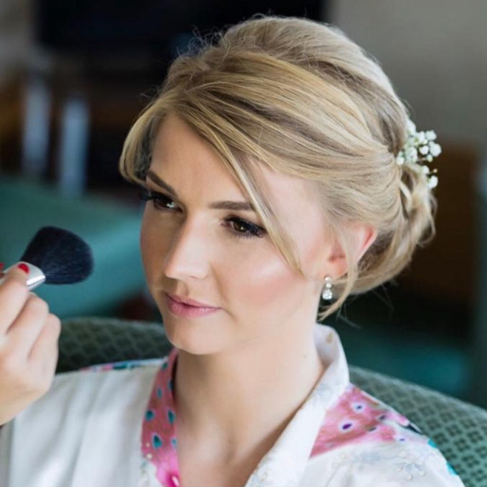 - Make Me Bridal Artist: MK Hair & Makeup . #softsmokeymakeup #prettyupdo