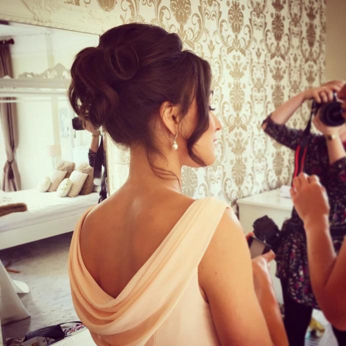 - Make Me Bridal Artist: MK Hair & Makeup . #eleganthighupdo