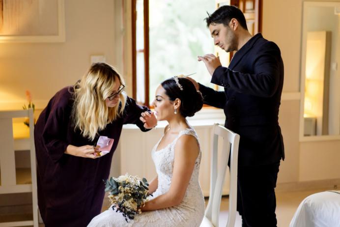 Wedding Planer: @blagovakate Coordinación: @simba_inspain Floristería: @flowershopelche Locación: @balneariodearchena Photo: @nastasiyagusarova  Video: @denchikfilm - Make Me Bridal Artist: Veronika Manco Makeup artist. Photography by: Nastasiya Gusarova.