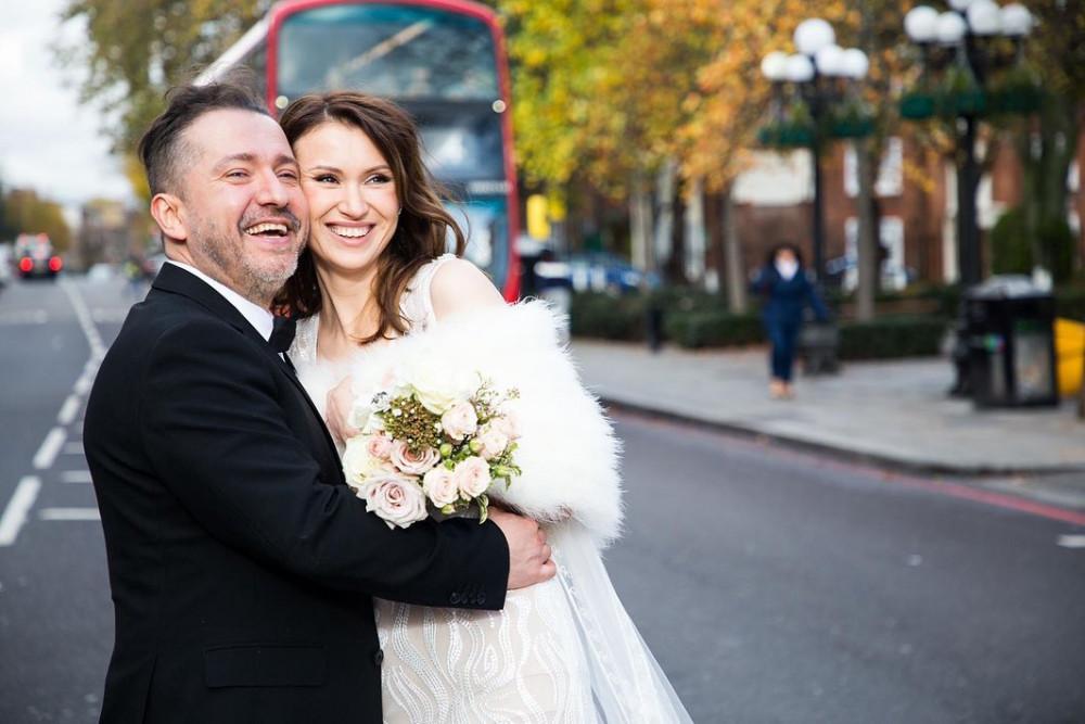 Liliya and David London - Make Me Bridal Artist: Veronika Manco Makeup artist. Photography by: Diana Novikova. #glamorous #curls #bridalmakeup #bridalhair #london