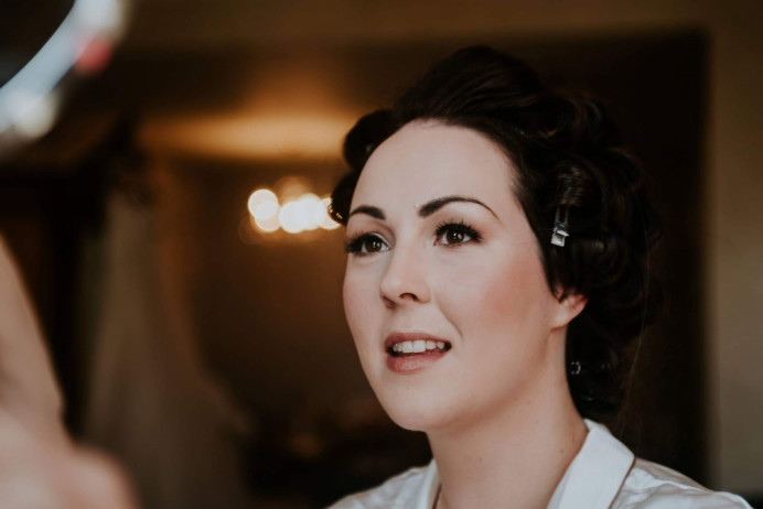 Beautiful #GlamoramaBride Charlotte wanted a fresh, radiant bridal look for her wedding at 30 James Street Hotel in Liverpool. - Make Me Bridal Artist: Glamorama Makeup. Photography by: Robin May Photography. #classic