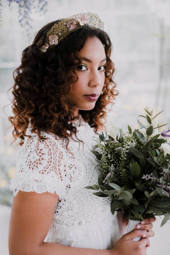 Shot at Potager Garden in Cornwall - Make Me Bridal Artist: Amy Potter Makeup Artist. Photography by: Verity Westcott. #bohemian #glamorous #boho #bridalmakeup #bridesmaidhair #freshfaced #bridalmakeup #cornishbrides #cornwallsmakeupartist #cornishmakeupartist #dewyskin #potagergarden #forthenaturalbride
