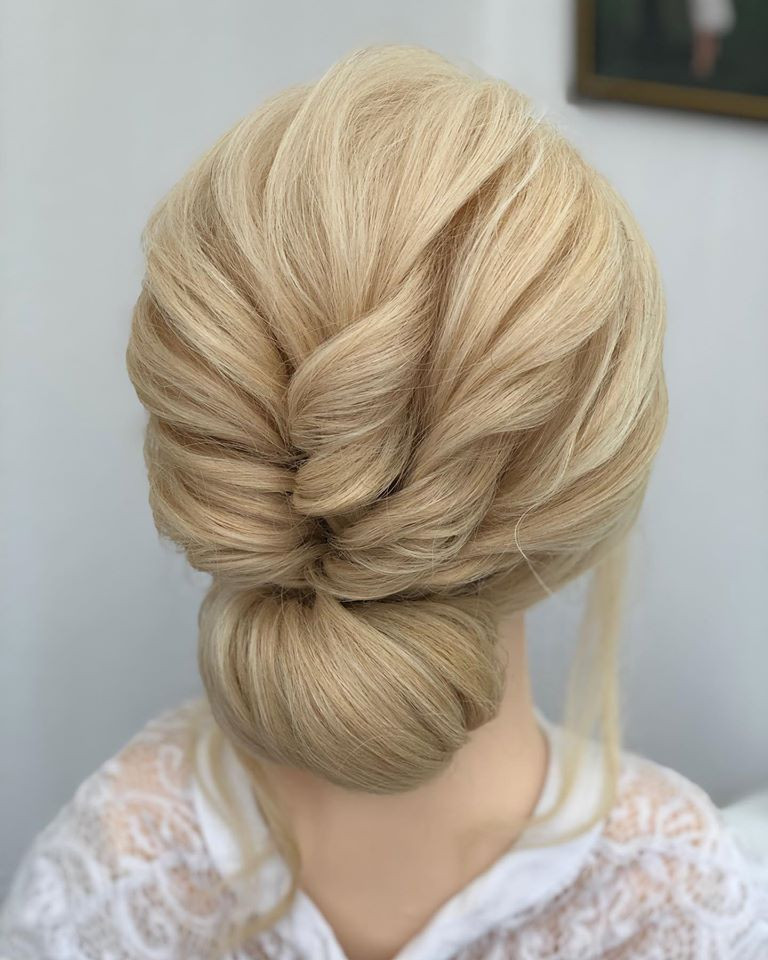 A beautiful textured bun which is always very popular. Almost any hair accessory can be added to this. - Make Me Bridal Artist: Linda Loves Hair. #classic #glamorous