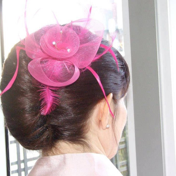 A popular style with Mother of the Bride/Groom. It also can look stunning for brides using beautiful accessories. - Make Me Bridal Artist: Linda Loves Hair. #classic #vintage