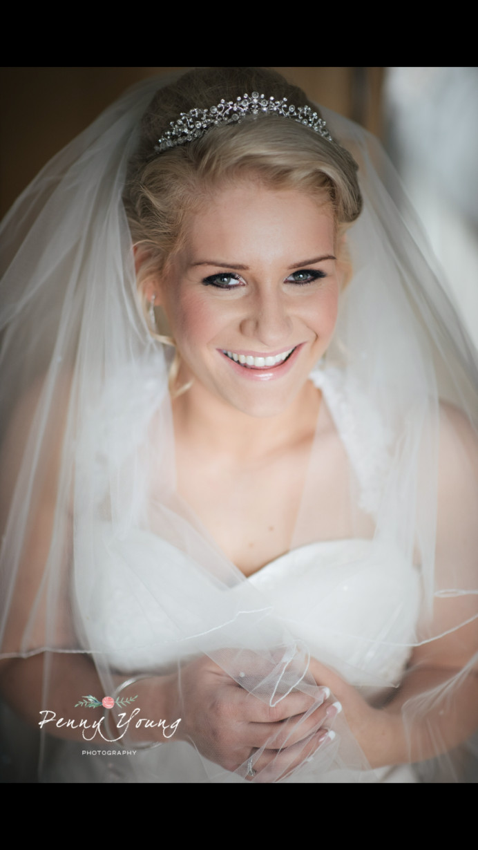 - Make Me Bridal Artist: Kelli Waldock Make Up Artist. Photography by: Penny Young Photography. #classic #glamorous #blonde #bridalmakeup #airbrushedmakeup #pretty
