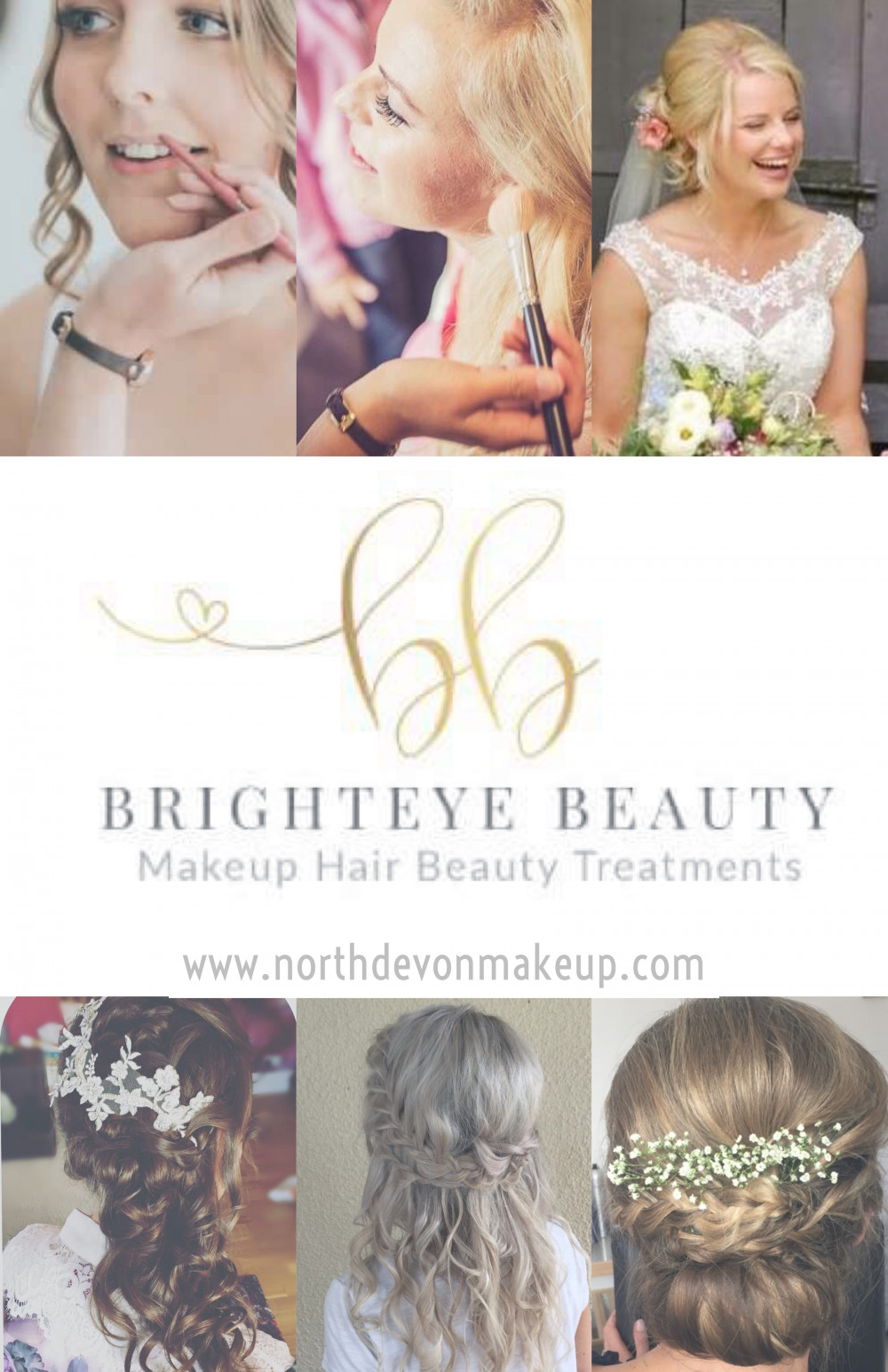 - Make Me Bridal Artist: Brighteye Beauty.