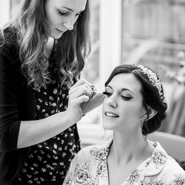 Hair & makeup in process :) - Make Me Bridal Artist: Katy Djokic - Wedding Hair & Makeup.