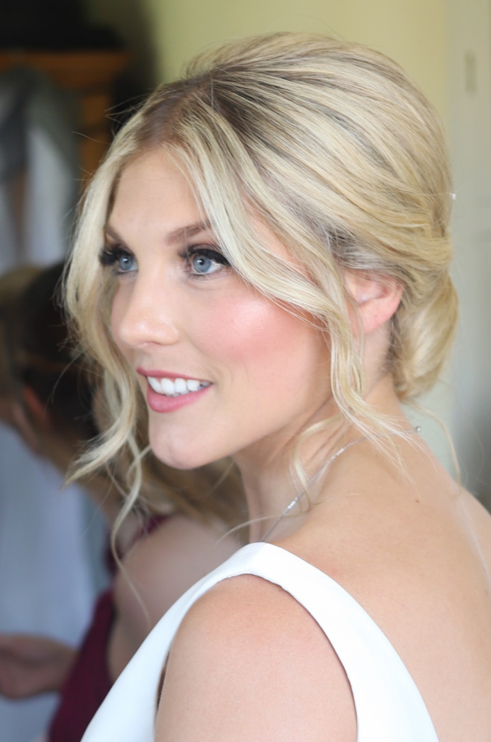 Natural 'glowy' makeup with emphasis on the eyes - Make Me Bridal Artist: Katy Djokic - Wedding Hair & Makeup. Photography by: Katy Djokic. #naturalmakeup #bridalmakeup